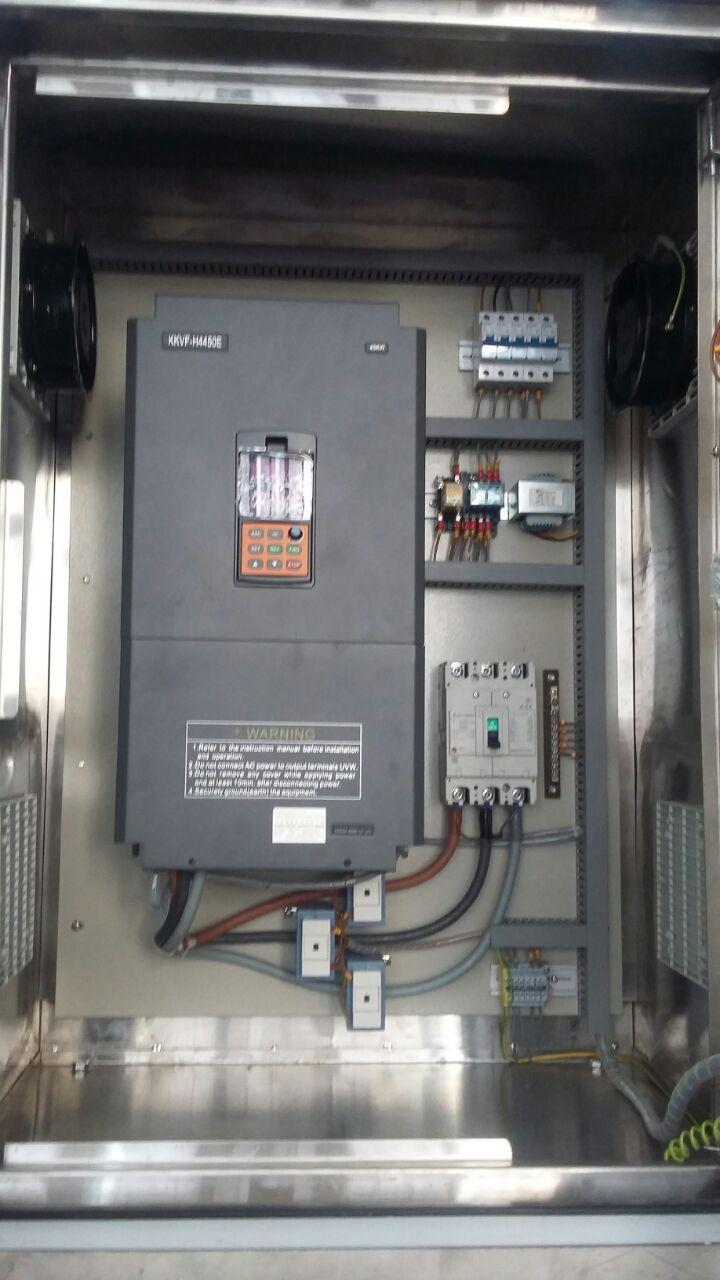 pump control panel rina